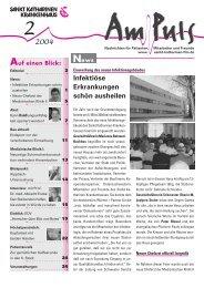 Editorial - Sankt Katharinen-Krankenhaus