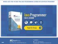 Where can I find the best free Java programming courses or certificate programs?