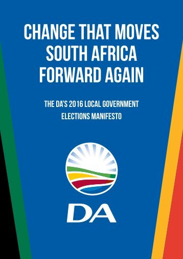 Change that moves South Africa forward again