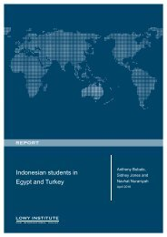 Indonesian students in Egypt and Turkey