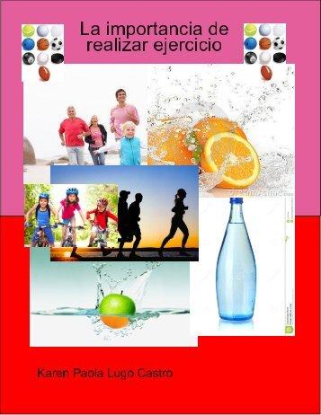 la importancia de realizar ejercicio
