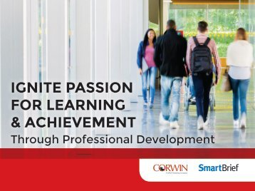 IGNITE PASSION FOR LEARNING & ACHIEVEMENT