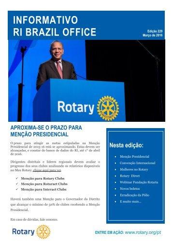 INFORMATIVO RI BRAZIL OFFICE
