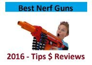 All the last Nerf guns in 2016