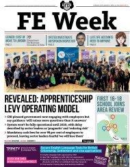 revealed apprenticeship levy operating model