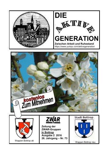 ZWAR-Zeitung Ausgabe 2  2016