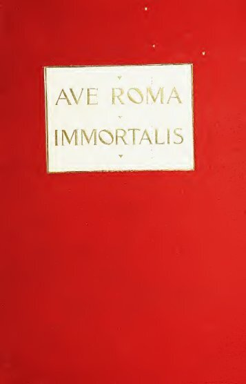 Ave • Roma • Immortals (vol. 1)