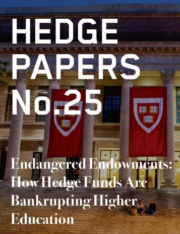 HEDGE PAPERS No.25