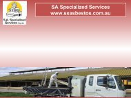 Asbestos Removal Services in Adelaide, South Australia