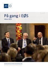 På gang i EØS - nr. 1 2013
