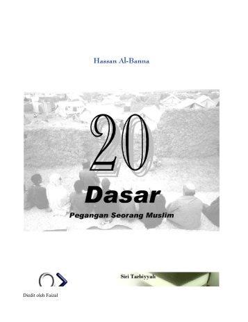 20 Dasar Pegangan Orang Muslim