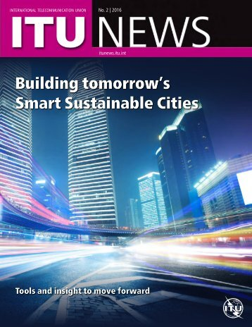 Building tomorrow's Smart Sustainable Cities