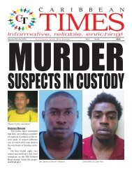 Caribbean Times 96th issue - Monday 25th April 2016