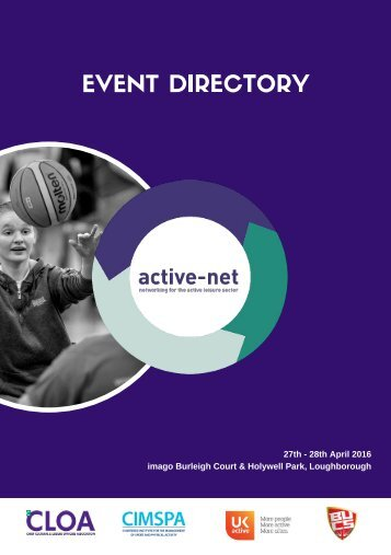 active-net Online Directory - Updated!