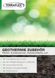 TERRAFLEX Geothermie- / Erdwaerme-Zubehör