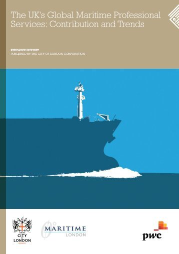 The UK's Global Maritime Professional Services Contribution and Trends