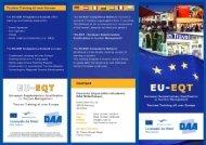 Flyer as PDF-Dokument (495 kb) - EU-EQT