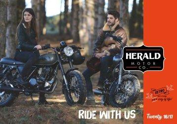 Ride with us twenty 16/17
