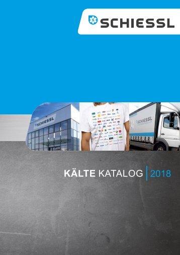 Schiessl Kältekatalog 2018