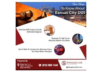Try This Advice If You Want To Find The Best Kansas City DUI Lawyers