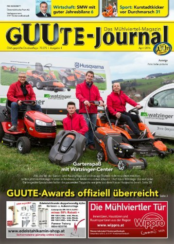 Guutejournal April 2016