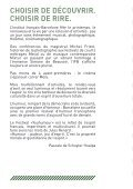 CHOISIR DE DÉCOUVRIR CHOISIR DE RIRE - Page 2