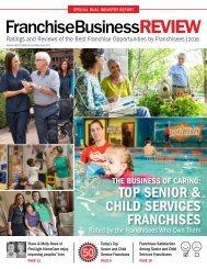 Top Senior & Child Services Franchises 2016