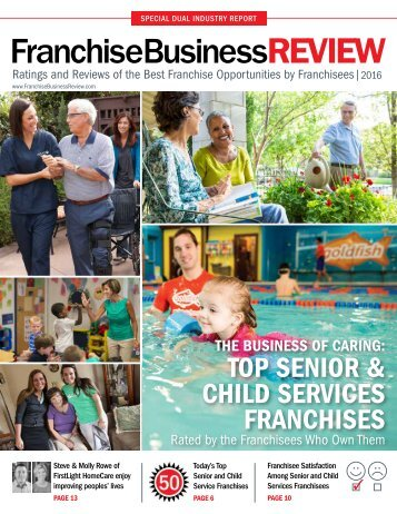 Top Senior & Child Services Franchises 2016