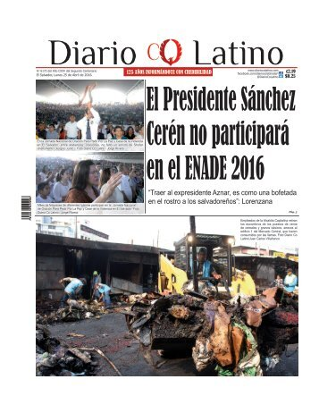 Edición 25 de Abril de 2016
