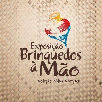Catálogo Exposição Brinquedos à Mão - Edição Salvador