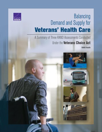 Balancing Demand and Supply for Veterans' Health Care