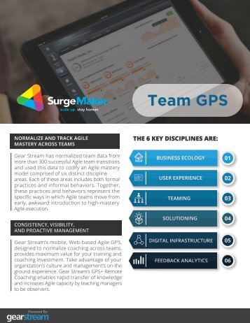 Data Sheet - Team GPS
