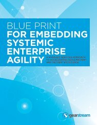 Embedding Systemic Agility in the Enterprise