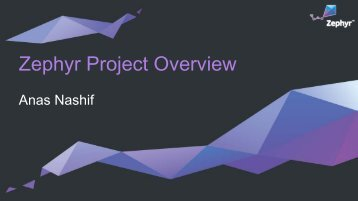 Zephyr Project Overview