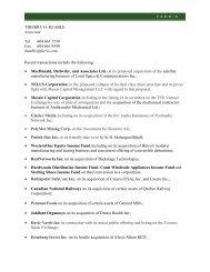THIERRY O. KEABLE Associate Tel 604 661 1739 Fax 604 ... - Farris