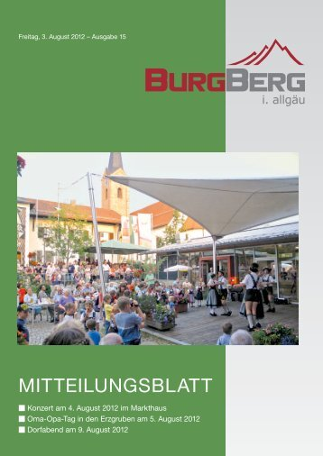 Auf Sommerware - Burgberg