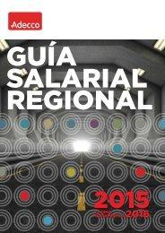 GUÍA SALARIAL REGIONAL