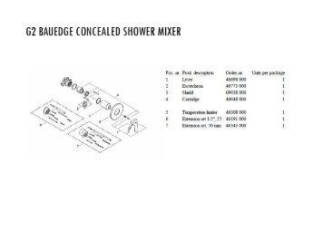 Concealed Bath 7 Shower Mixer