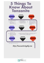 5 Things To Know About Tanzanite