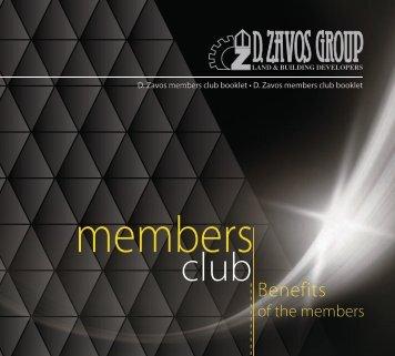 MEMBERS CLUB BOOKLET
