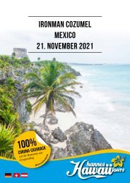 Hannes Hawaii Tours - IM Cozumel 2021 DE