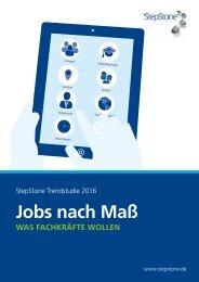 Jobs nach Maß