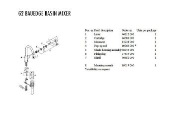 Basin Mixer