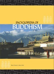 Encyclopedia of Buddhism Volume One A -L Robert E. Buswell