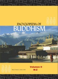 Encyclopedia of Buddhism Volume Two M-Z   Robert E. Buswell