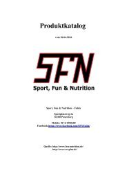 Sport, Fun & Nutrition - Fulda