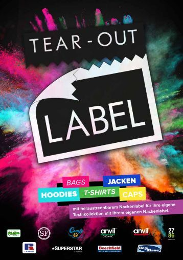 Tear-Out Label