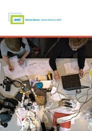 Informe Horizon > edición bibliotecas 2015