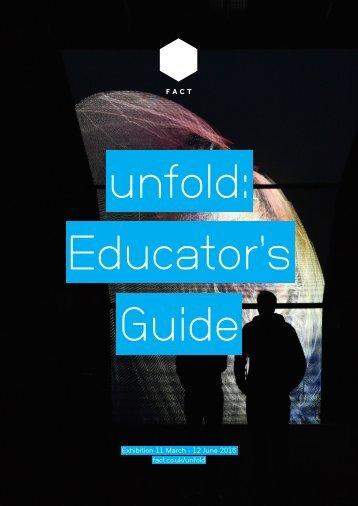 unfold Educator's Guide