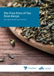 The True Price of Tea from Kenya